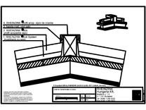 Tabla plana pentru invelitori titan zinc - Coama acoperisului in doua ape, fara ventilare - 2D RHEINZINK