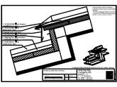 Tabla plana pentru invelitori titan zinc - Decalaj de panta - 2D RHEINZINK