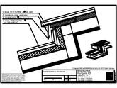 Tabla plana pentru invelitori titan zinc - Decalaj de panta cu falt infasurat - 2D RHEINZINK