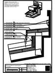 Tabla plana pentru invelitori titan zinc - Racord acoperis intr-o apa la perete cu ventilare -