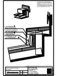 Tabla plana pentru invelitori titan zinc - Racord invelitoare la fereastra cu ventilare - 2D RHEINZINK