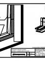 Tabla plana pentru invelitori titan zinc - Racordare invelitoare la perete - 2D
