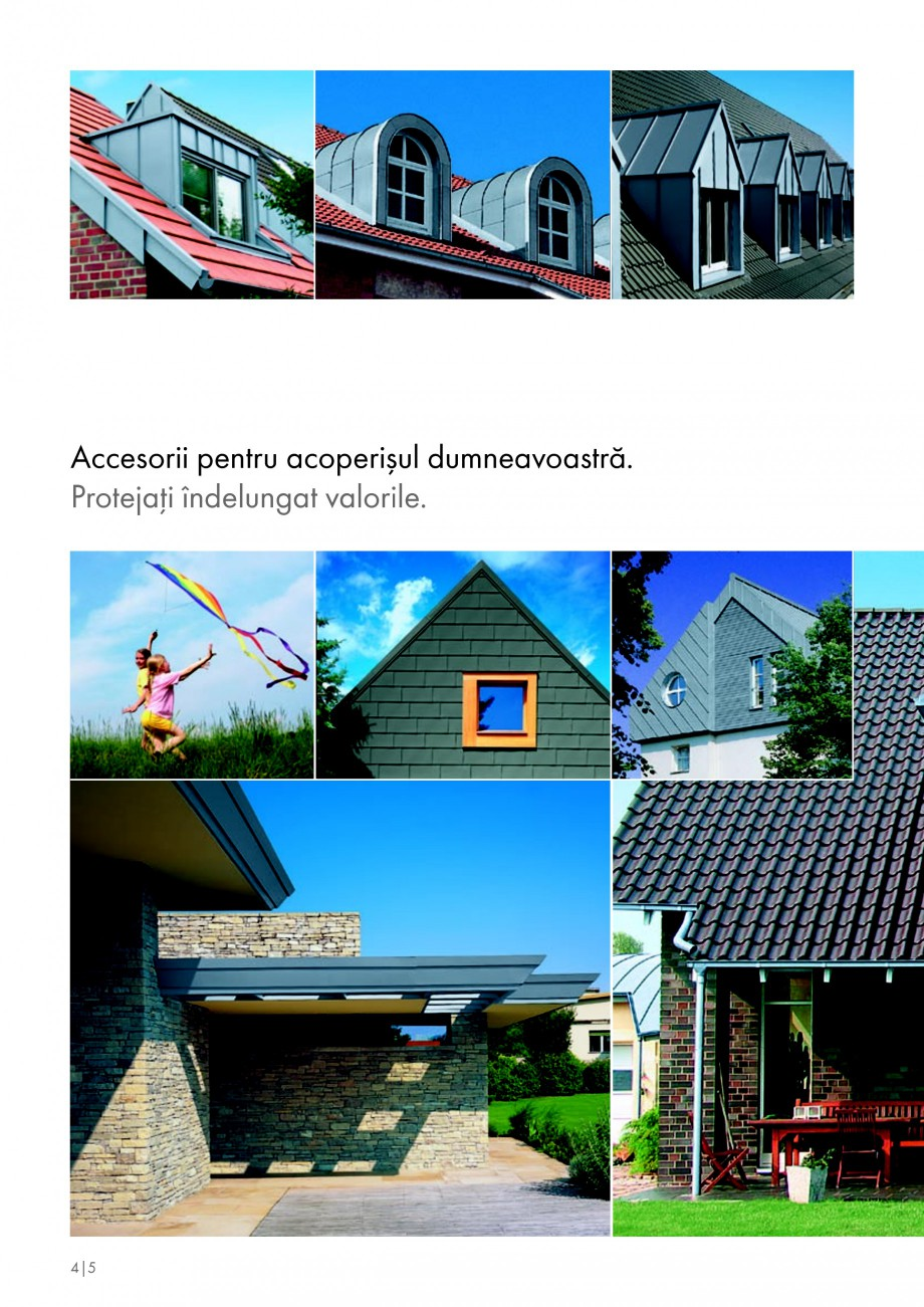 Pagina 4 - Tabla plana pentru invelitori titan zinc - Detalii arhitectonice RHEINZINK RHEINZINK®...