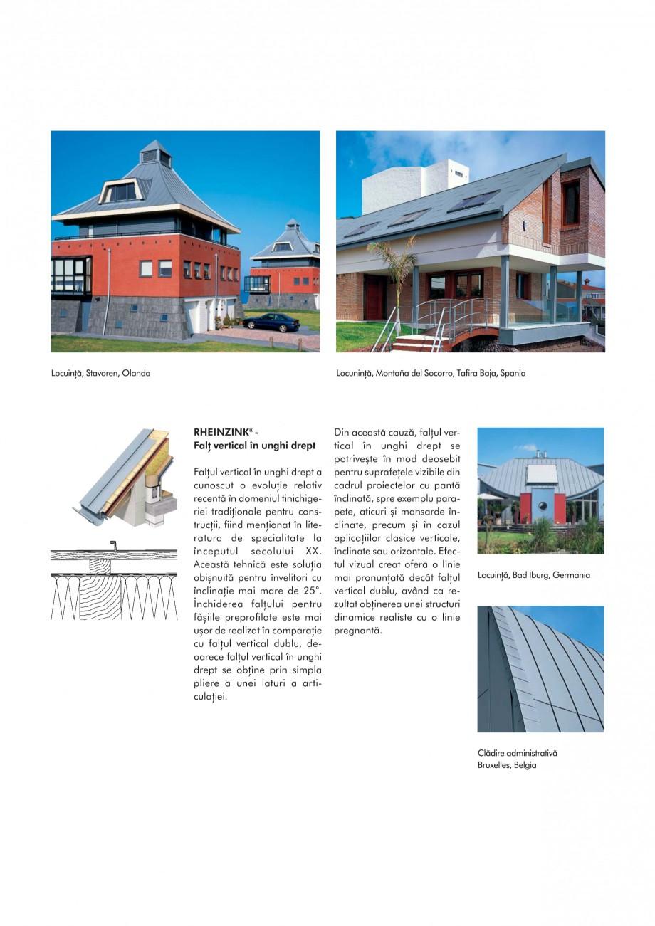Pagina 4 - Tabla plana pentru invelitori titan zinc - Sisteme de invelitori RHEINZINK RHEINZINK®...