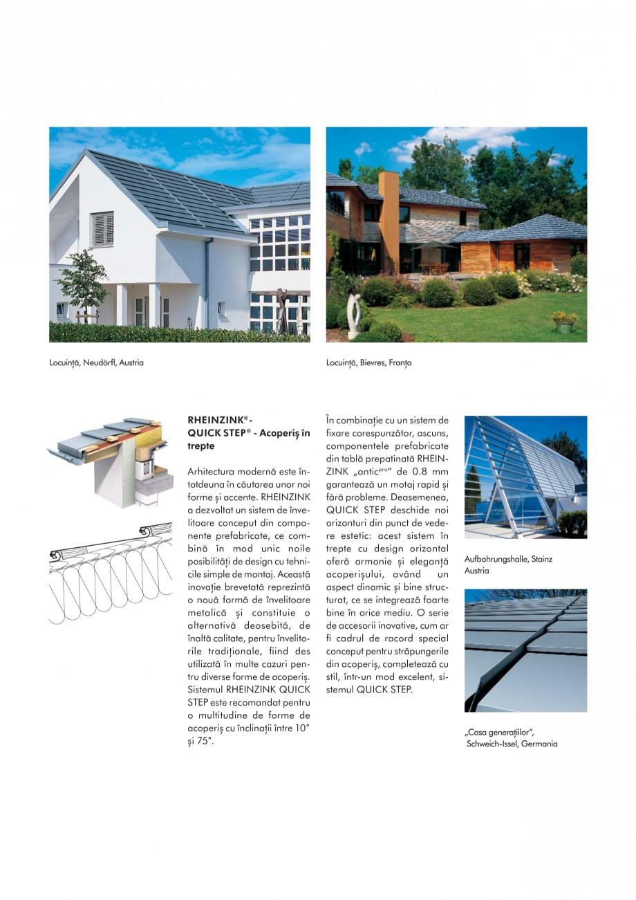 Pagina 7 - Tabla plana pentru invelitori titan zinc - Sisteme de invelitori RHEINZINK RHEINZINK®...