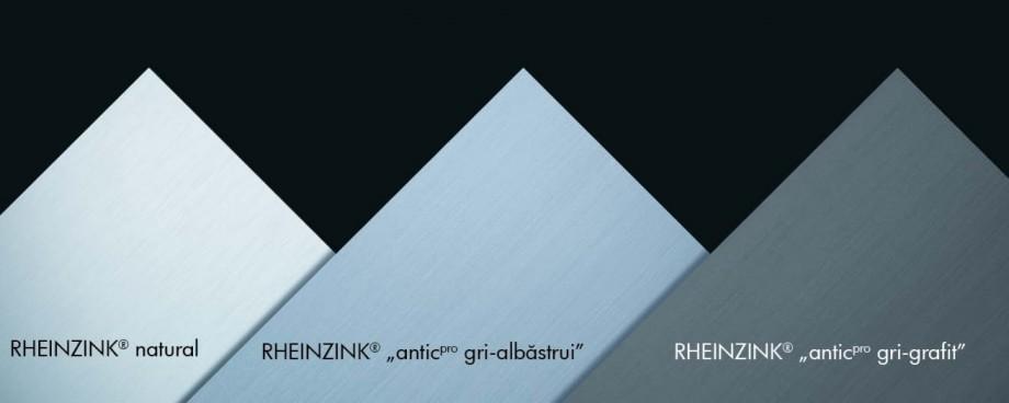Pagina 1 - Culori pentru tabla plana pentru invelitori titan zinc RHEINZINK Catalog, brosura Romana ...