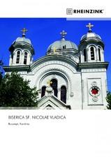 Tabla plana pentru invelitori titan zinc - Biserica Sf. Nicolae Vladica RHEINZINK