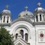 Biserica Sf. Nicolae Vladica - acoperis vazut de aproape