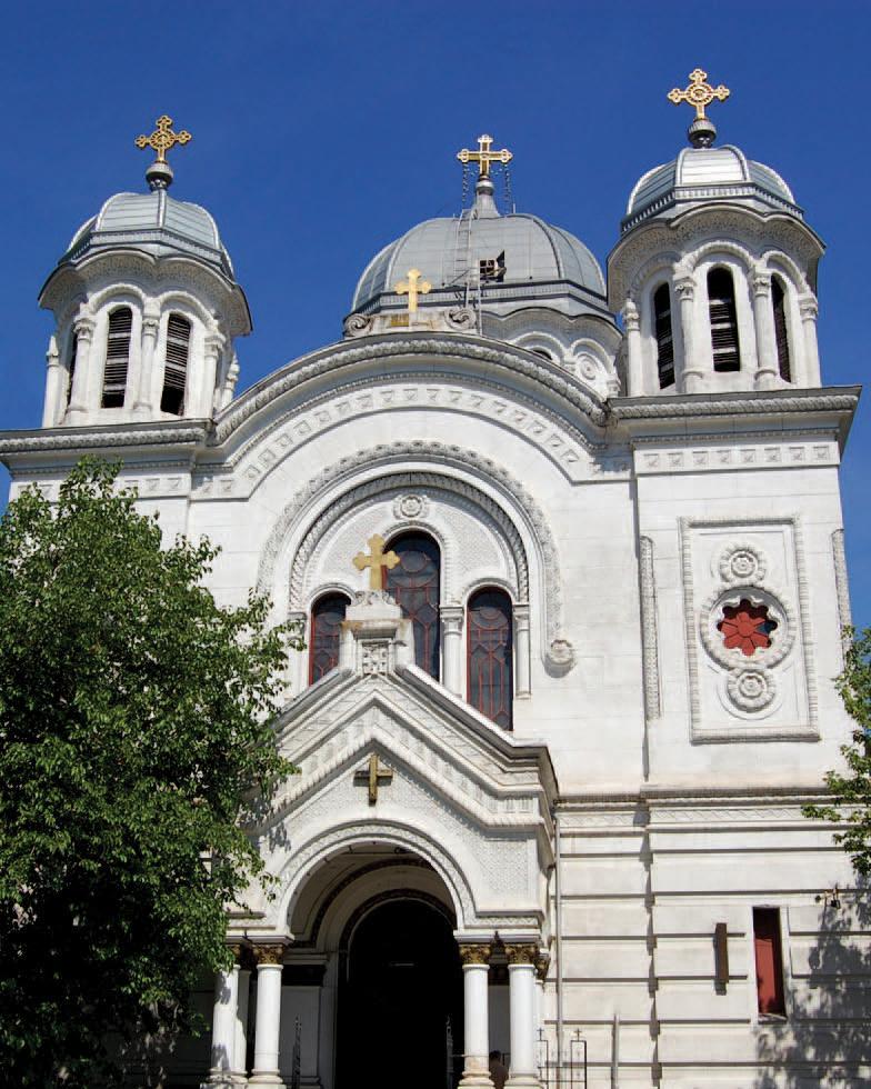 Tabla plana pentru invelitori titan zinc - Biserica Sf. Nicolae Vladica RHEINZINK - Poza 4