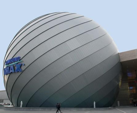 Lucrari, proiecte Tabla plana pentru invelitori titan zinc - Cinema IMAX RHEINZINK - Poza 3