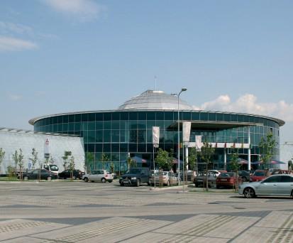 Mall Alba - acoperis cu tabla RHEINZINK® Tabla plana pentru invelitori titan zinc - Mall Alba