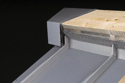 Tabla plana pentru invelitori titan zinc - detaliu RHEINZINK® Tabla plana pentru invelitori titan zinc