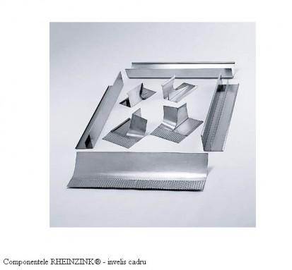 Componentele RHEINZINK® - invelis cadru RHEINZINK® Tabla plana pentru invelitori titan zinc