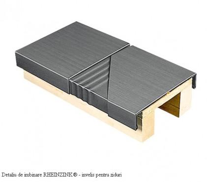 Prezentare produs Tabla plana pentru invelitori titan zinc RHEINZINK - Poza 1