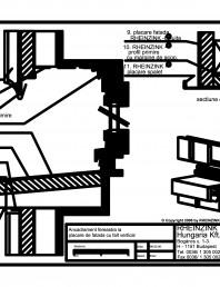 Ancadrament fereastra la placarea de fatada cu falt vertical