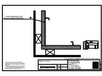 Detaliu colt interior RHEINZINK