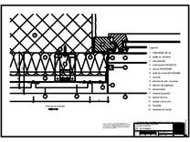 Panou cu nut si feder - H3 Gol de fereastra cu element iesit din planul peretelui RHEINZINK