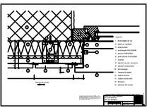 Panou cu nut si feder - H3 Gol de fereastra cu element in planul peretelui RHEINZINK
