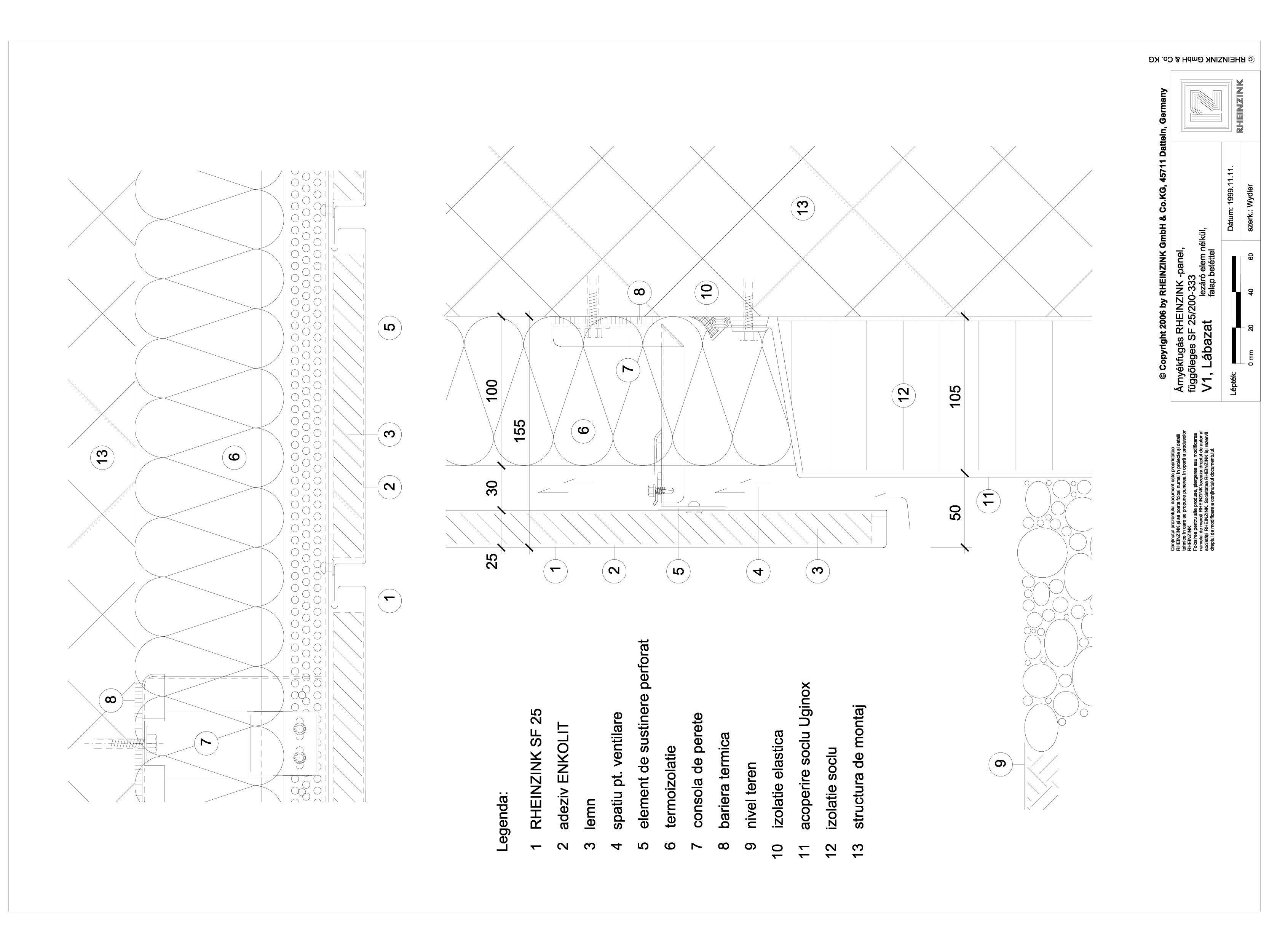 Pagina 1 - CAD-DWG Panou cu nut si feder - V1 Soclu fara element de inchidere, cu panou din lemn...