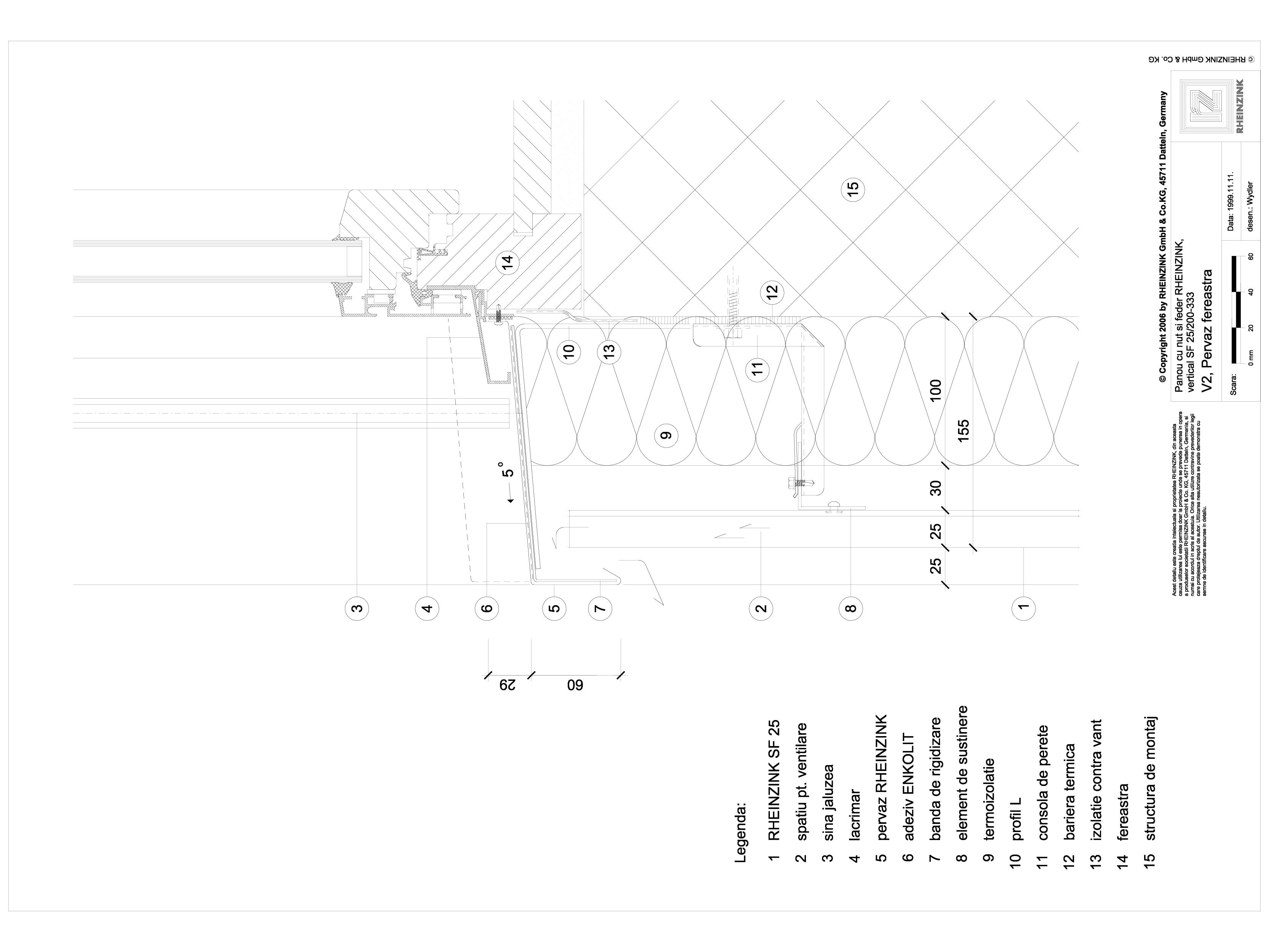 Pagina 1 - CAD-DWG Panou cu nut si feder - V2 Pervaz de fereastra cu element de prindere iesit din...