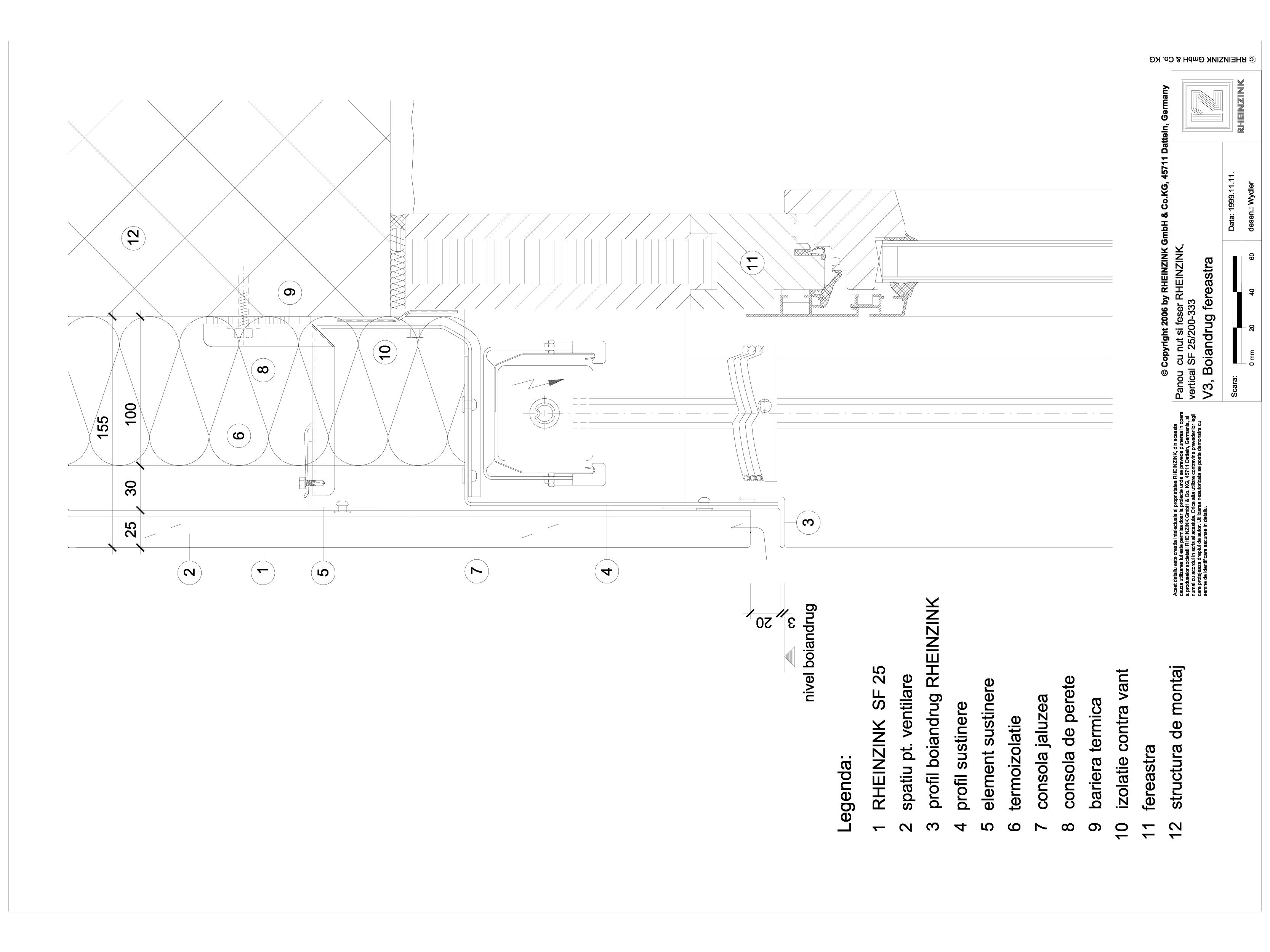 Pagina 1 - CAD-DWG Panou cu nut si feder - V3 Boiandrug fereastra cu element cu forma de lama...
