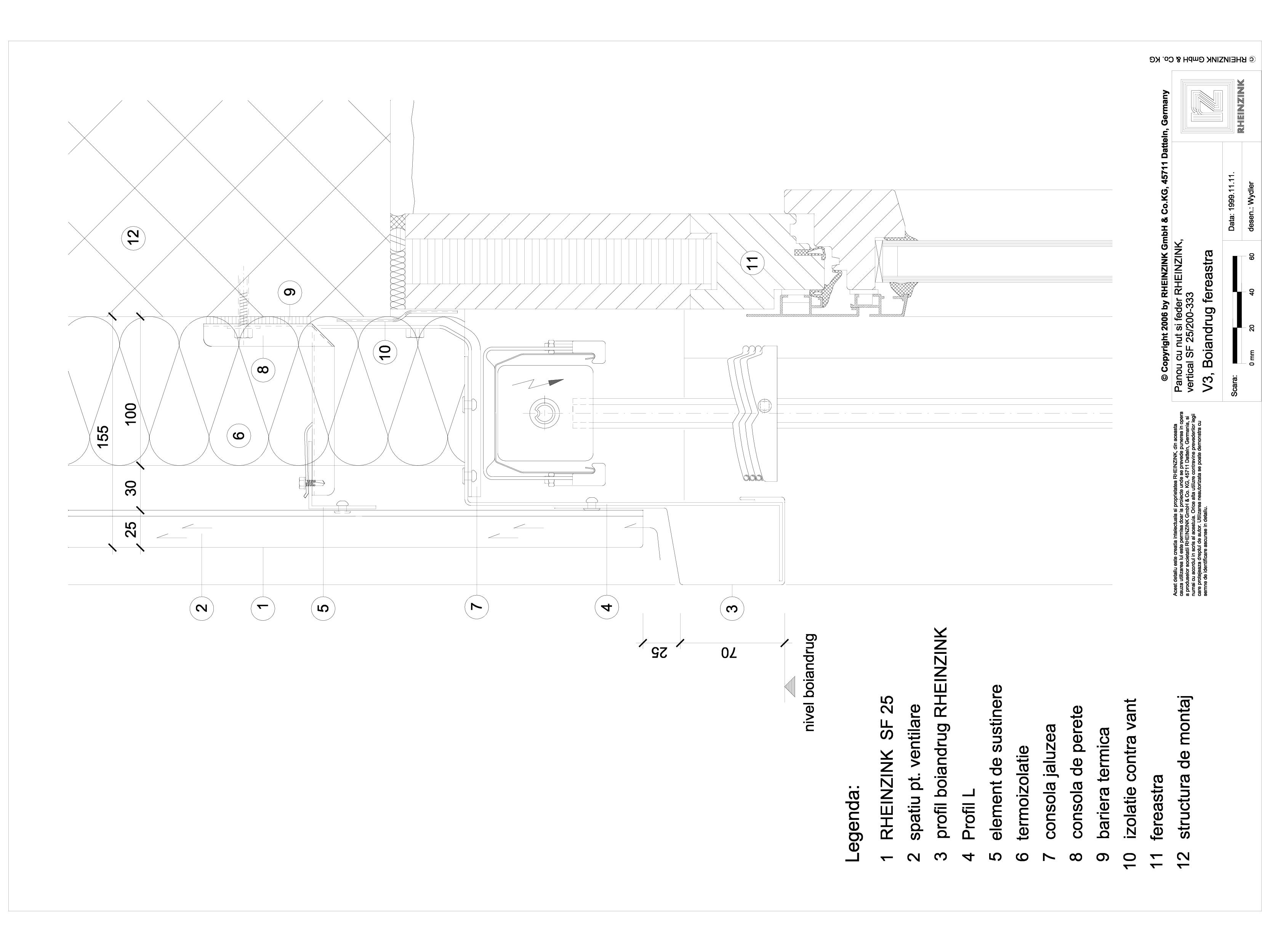 Pagina 1 - CAD-DWG Panou cu nut si feder - V3 Boiandrug fereastra cu element iesit din planul...