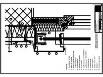 Panou cu nut si feder - V3 Boiandrug fereastra cu magazia jaluzelei iesita din planul fatadei RHEINZINK