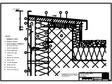 Panou cu nut si feder - V4 Rebord in planul peretelui cu doua piese RHEINZINK
