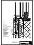V2 Pervaz fereastra in planul placarii peretelui RHEINZINK - orizontale