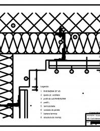 H2 Colt interior, iesit din planul peretelui