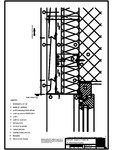 V3 Boiandrug fereastra in planul peretelui, cu lacrimar RHEINZINK - Stulp