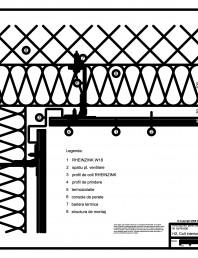H2 Colt interior in planul peretelui