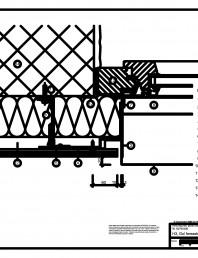 H3 Gol fereastra cu profil cu forma de lama, in planul peretelui