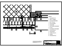 H3 Gol fereastra cu profil cu forma de lama, in planul peretelui RHEINZINK