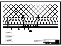 H4 Rost de dilatare cu profil cu forma de lama, in planul peretelui RHEINZINK
