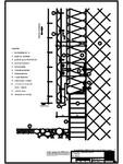 V1 Soclu cu profil cu forma de lama, in planul peretelui RHEINZINK - ondulat