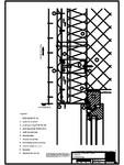 V3 Boiandrug cu profil cu forma de lama, in planul peretelui RHEINZINK - ondulat