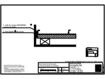 Racordarea laterala la perete a placarii de fatada cu etansare RHEINZINK