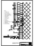 Tabla cutata - V1 Soclu cu lacrimar cu sectiune dreptunghiulara RHEINZINK - trapezoidal