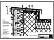 Tabla cutata - V4 Rebord perete iesit din planul peretelui, 1 element RHEINZINK - trapezoidal