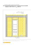 Detaliu de fatada - constructii in cadre din B A Fereastra fara parapet la pereti cu