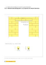 Detaliu de buiandrug la pereti de compartimentare. Montare buiandrugi pentru usi in pereti de compartimentare YTONG - CLASIC FORTE INTERIO...