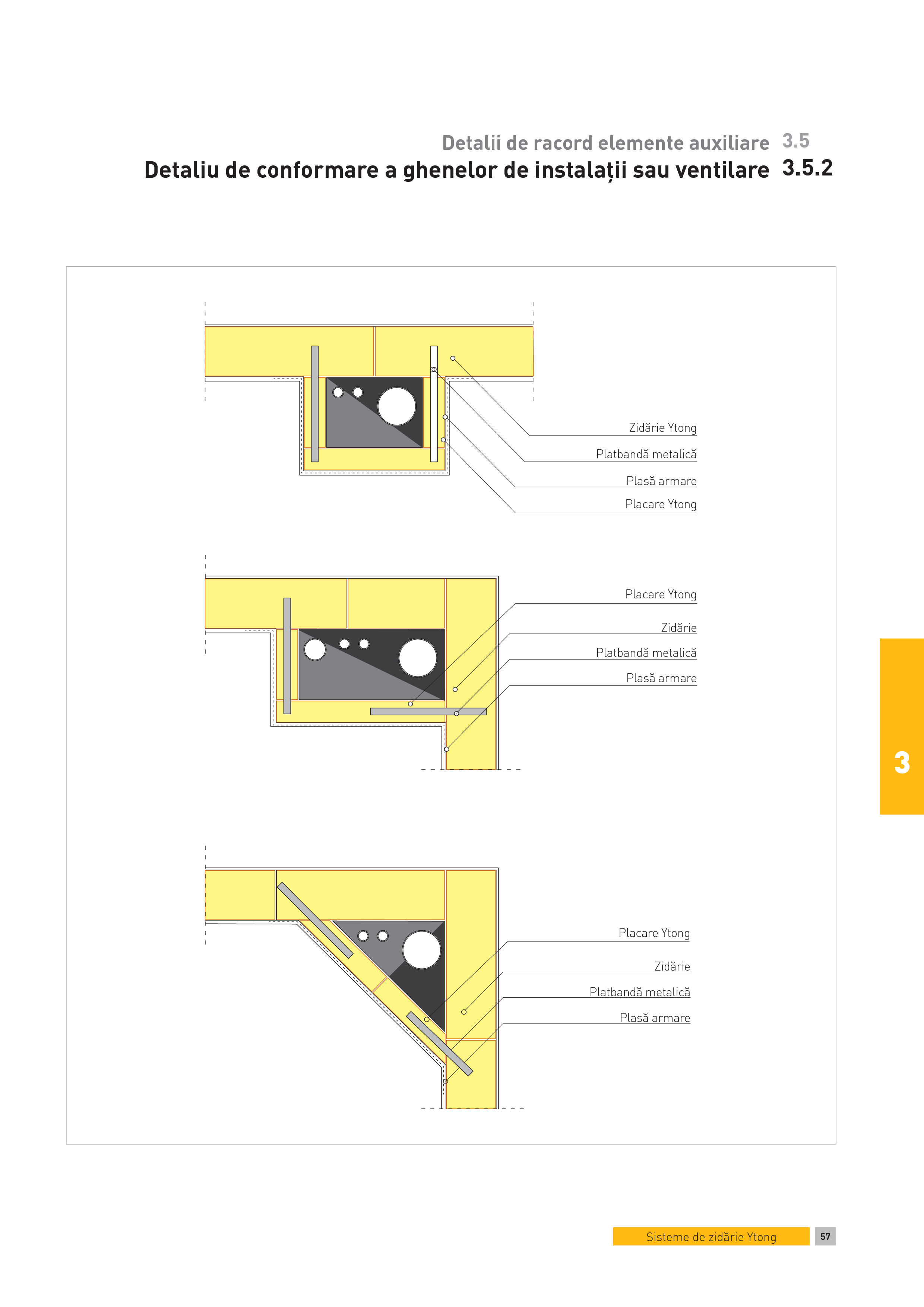 Pagina 1 - CAD-PDF Detalii de racord elemente auxiliare. Detaliu de conformare a ghenelor de...