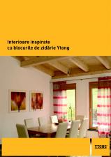 Interioare inspirate cu blocurile de zidarie YTONG YTONG