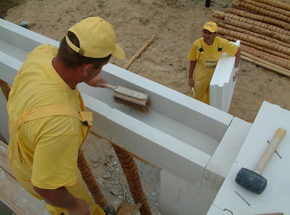 Sistem constructiv - Punerea in opera YTONG - Poza 110