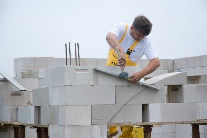 Casa in constructie - realizarea zidurilor A+, CLASIC, FORTE Case in constructie