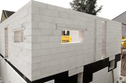 Casa in constructie - perete din BCA vazut de aproape A+, CLASIC, FORTE Case in constructie