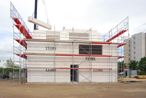 Executie, montaj Case in constructie YTONG - Poza 23