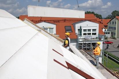 Casa in constructie - realizarea acoperisului A+, CLASIC, FORTE Case in constructie