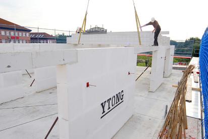 Casa in constructie - pereti din materiale Ytong A+, CLASIC, FORTE Case in constructie